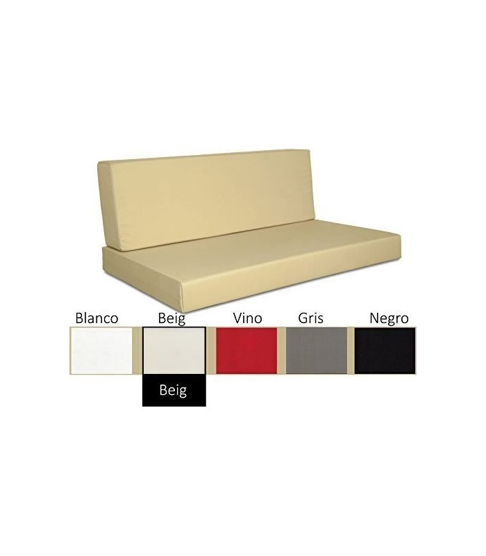 Sofa chill out con tejido impermeable