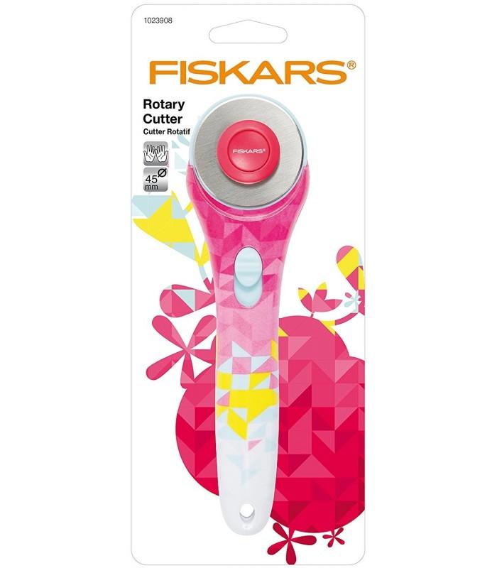 Cutter Fiskars 45 mm geometrico
