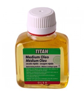 Medium para Colores al Óleo Titan - 100 mL