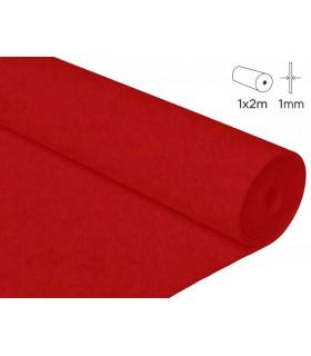 2 m feltre vermell 1 mm gruix