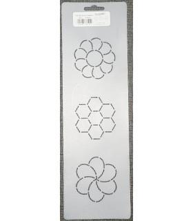 Plantilla bloc per a encoixinat flors