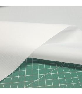 Tela impermeable fina Blanco