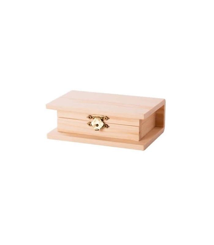 Caja de madera contorno