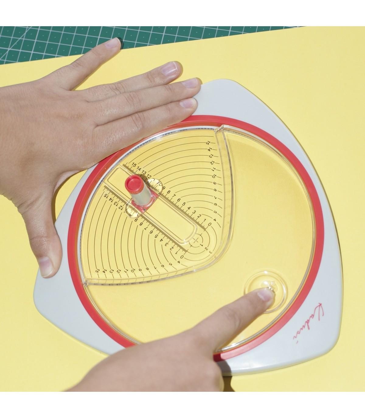 Cutter circular para hacer círculos perfectos