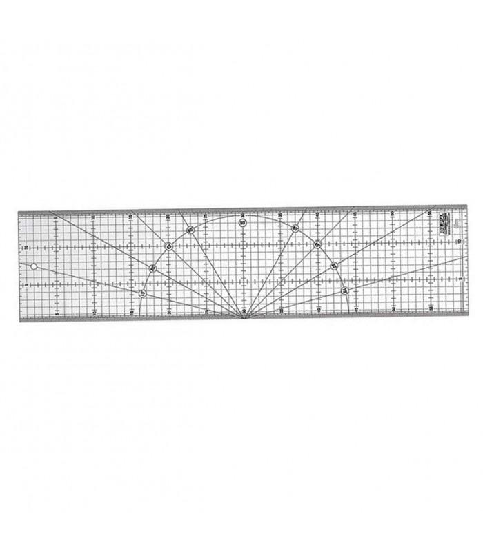Regla Patchwork Olfa 15x60 centímetros