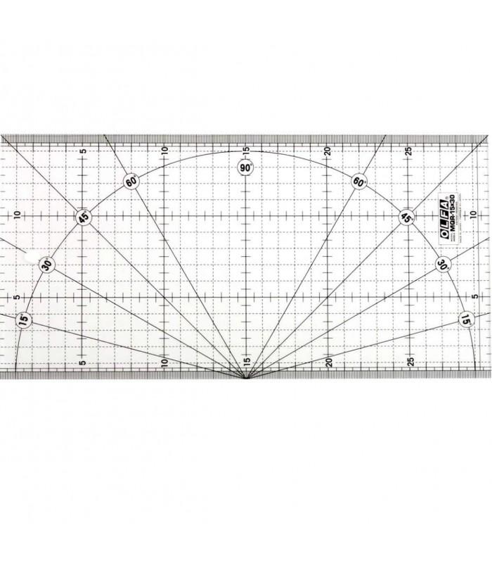 Regla Patchwork Olfa 15x30 centímetros