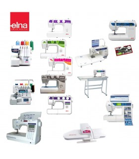Maquinas de coser Elna