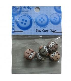 Botons decorartius de Mussols