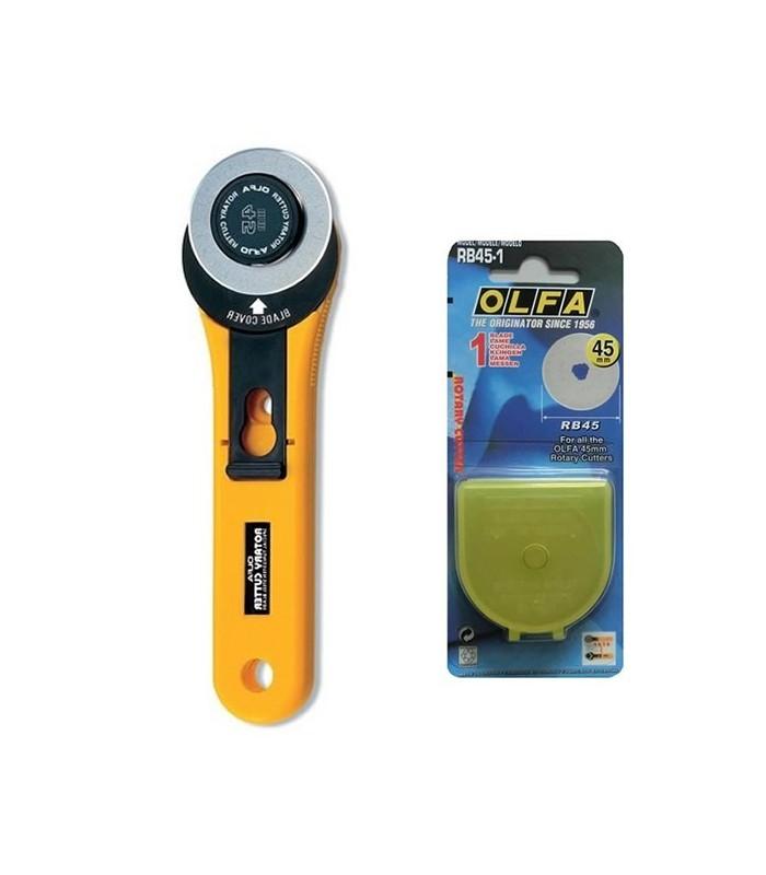 Cutter Olfa y recambio cuchilla