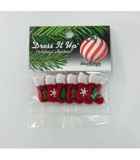 Botones decorativos de Navidad