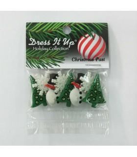 Botones decorativos para Navidad