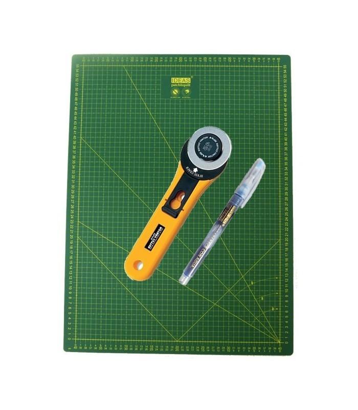 Base de corte 60x45 Cutter 45mm y Marcador