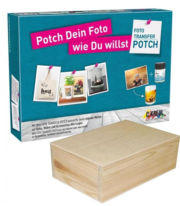 Set FOTO TRANSFER POTCH + caja