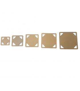 Set plantillas cuadrados