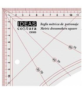 Regla métrica de patronaje
