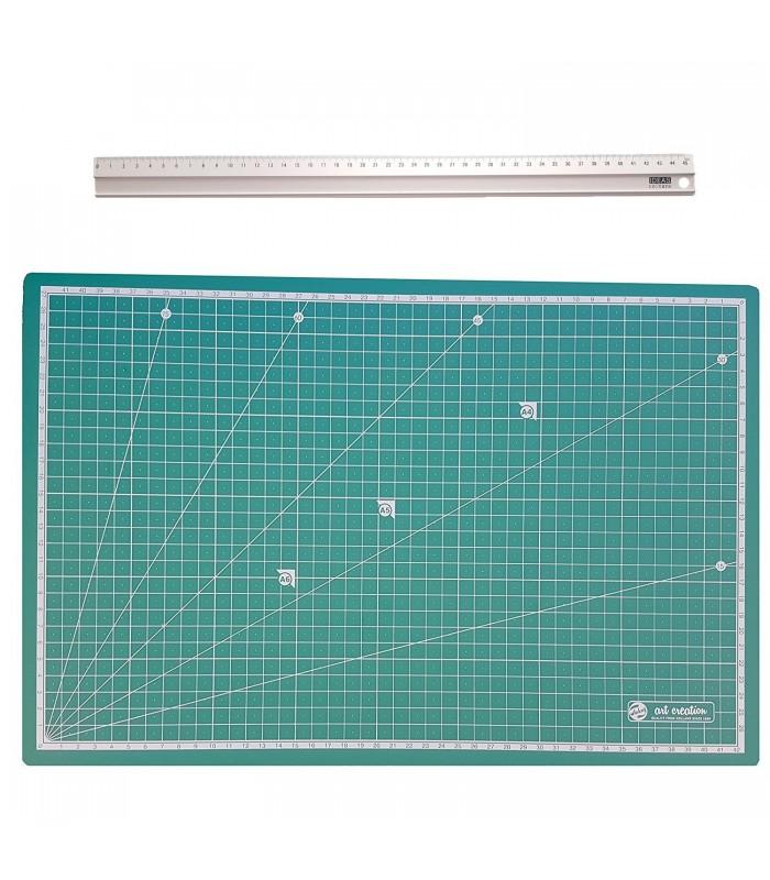 Kit Base corte y regla con freno