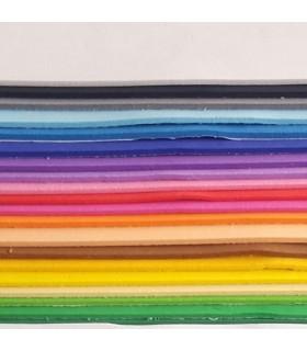 Set 20 láminas goma eva adhesiva ( foam adhesivo )