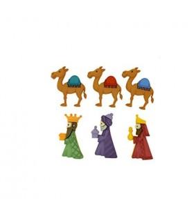 Botones decorativos Reyes Magos